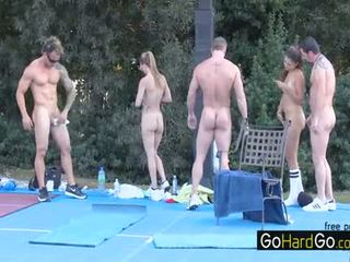 check group sex nice, see big boobs great, mugt doggystyle rated