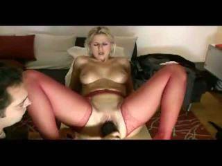شقراء زوجة loves painful penetration فيديو