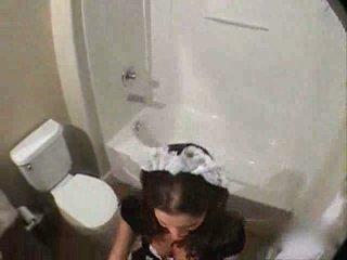 fucked most, girl you, real bathroom watch