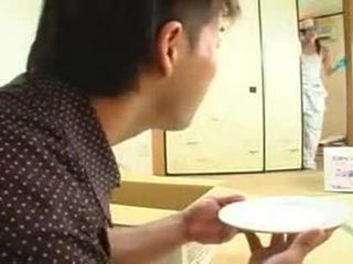 brunetka, japoński, wiek dojrzewania