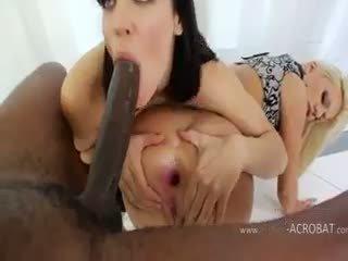 Extrême anal modèles et brutal noir cok