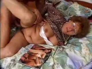 লোমশ আলগা বাধন catches grandson jacking