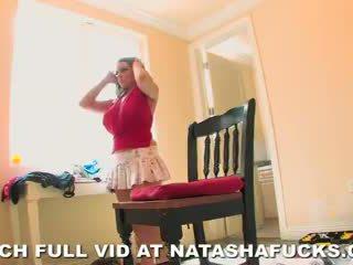 Natasha Nice - Changing Room on Set