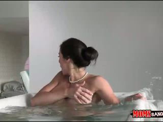 Giselle Mari and Kendra Lust horny 3way