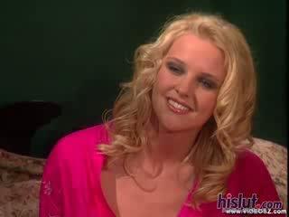 Hannah harper looks som gorgeous som någonsin som hon gets henne vaginaen stuffed