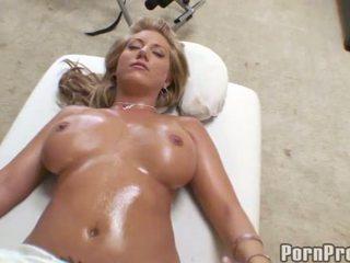 Doce drilling depois massagem