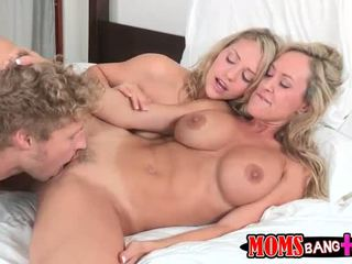 Brandi Love and Mia Malkova horny trio