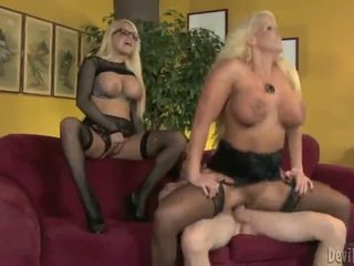 Alura Jenson And Jacky Joy Two Big Titted Blondes Having Shaged