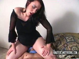 hardcore sex, facesitting, femdom, amateur porn