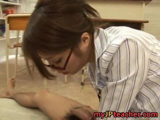 Sexy Asian Teacher Bonks And Sucks