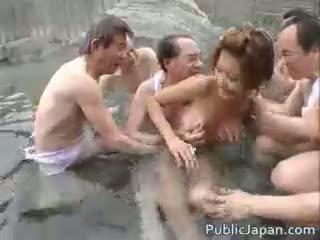 ideale giapponese, sesso di gruppo, nuovo voyeur