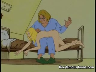Innocent girls seduced at spanked