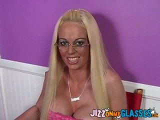 Carson Is Your Quintessential Southern California Bleach Blonde Stripper Around Hot Fake Tits. She's Got A Tanned Hardbody, Fake Nails, Tons Of Makeup, A Works. She Also Wears Glasses, Which Makes