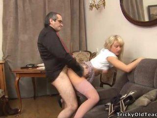 Секс lesson з збуджена вчитель