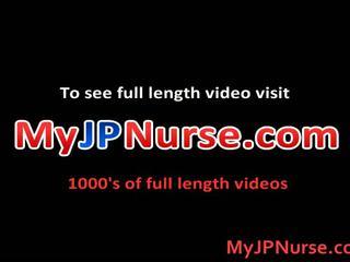 Ai Niimura Sexy Asian Nurse Likes Her Patient