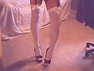 Webcam lingerie crossdresser