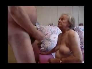 Grandma having fun Video