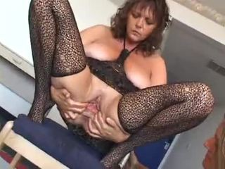 Three mature lady's fisting/pissing with toys