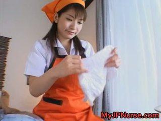 Exotischer asiatischer Blow Job