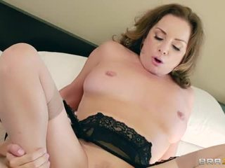 brunette great, big dick, ideal reverse cowgirl fun