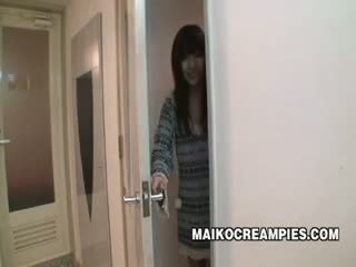 Jepang murid wedok fucked