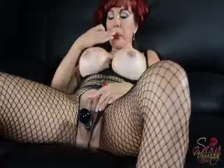 yeni oyuncaklar, vergiye tabi büyük göğüsler ideal, görmek redhead