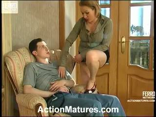 hardcore sex, érlelődik, mature porn