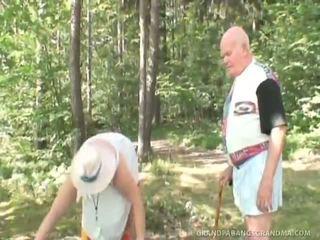 Aging Wife Watches Nubile Schoolgirl Riding Her Husband's Big Cock