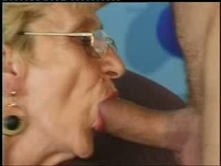 Old Granny Loves Young Cock Video