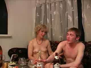betrunken, mütter und jungen, hardcore
