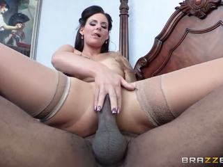 Black cock is what this whore loves the most in the morning