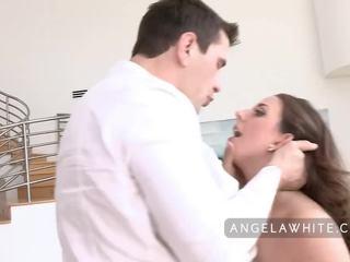 Buah dada besar angela putih gets kacau oleh manuel ferrara