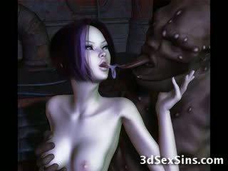 Ogres nailing 3d elf kanak-kanak perempuan!