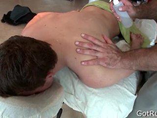 Unfathomable anal permeating massagem