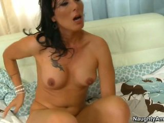 brunette, fucking, big tits, tanned