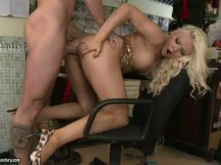Bitchy White Chick Nicky Angel Acquires Her Sweet Cracks Creamed After A Nice Fuck