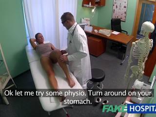 Fakehospital räpane milf seks addict gets perses poolt the arst kuigi tema abielumees waits