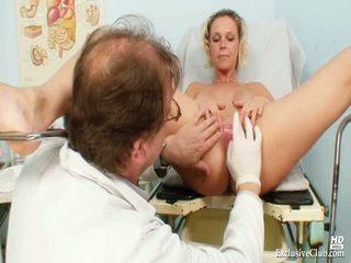 Blonde Gabriela Gyno Speculum Exam At Kinky Clinic