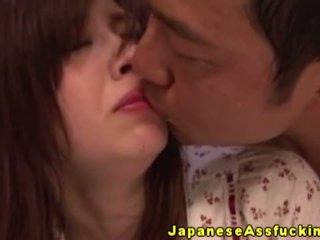 Ιαπωνικό ώριμος/η gets κώλος ravaged