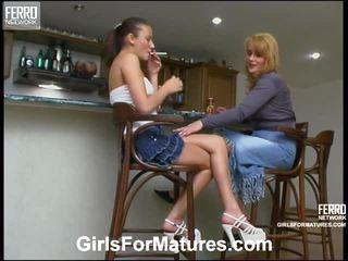 Ella And Jozy Mature Inside Lesbo Activity