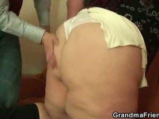 deepthroat, φίμωση, γιαγιά