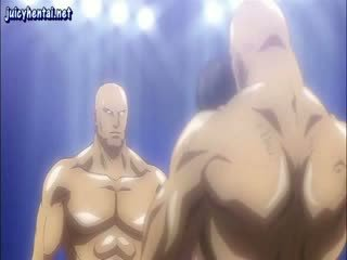 Animated fighter gets fittor licked