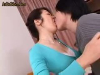 Fierbinte japonez mama 49 de avhotmom