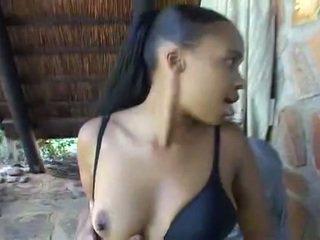 African Teen Bang