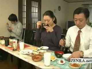 Subtitled dziwne japońskie bottomless nie majteczki rodzina