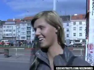 チェコ語 streets - ilona takes 現金 のために 公共 セックス
