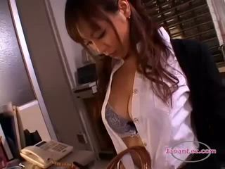 Busty Patient Getting Her Nipples Pinched Kissing Spitting With The Doctor In The Surgery