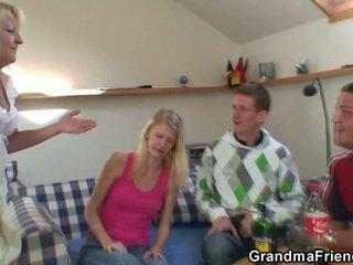 real drunk check, ideal grandma fun, more foursome ideal