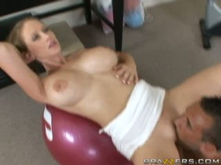 Hot Busty Blonde Milfs Sucking And Fucking