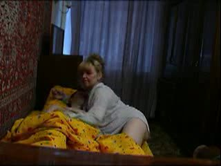 Mature wake up her son Video